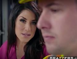 Brazzers - Dirty Masseur -  Workers Cumpensation scene starring Raven Hart and Jessy Jones