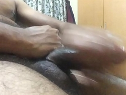 Aug 4 2017 : Bangalore lonely boy masterbate with oil and cum