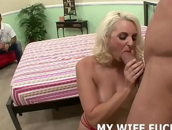 My get hitched likes it when I watch her getting pounded
