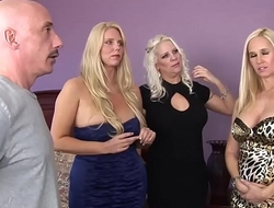WANKZ- Platinum Blond Trio of Cougars