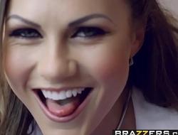 Brazzers - Doctor Adventures -  Doctors High School Crush scene starring Tina Kay