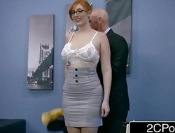 Ginger Bimbo Lauren Phillips Gets Pounded At Order