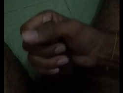 manish bhai masturbating and cumshot