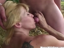 www.elation.ga      :Blonde mom with two boys hardcore outdoor fuck 720p