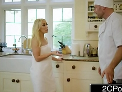 Amber Deen Gets Some Dick For Dinner