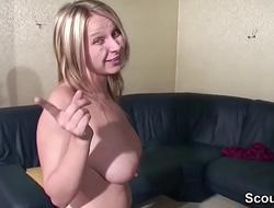 Mutti treibt es im privaten Sextape mit ihrem Stief Sohn