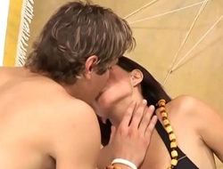 Teen from brazil banged very hard by tourist! Vol. 10
