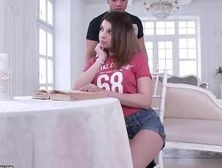 Anal lover schoolgirl Veronica Belluci
