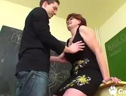 Mature Teacher Bangs Her Student In Salmagundi