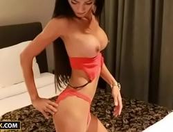 Ladyboy Tan Interview And Masturbation