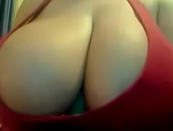 Sexy BBW Busty Latina Plays with Pussy Accouterment 1. See Accouterment 2 at Cam2Flirt.com