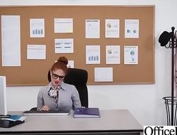 Office Sluty Girl (Lennox Luxe) With Big Round Bowels Banged Hard video-18