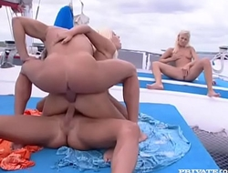 Henriette Blond and Monica Moore Have a DP...