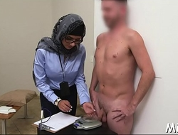 Large tits of arab wench get exposed