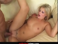 Beautiful Blonde Gets Her Pussy Drilled