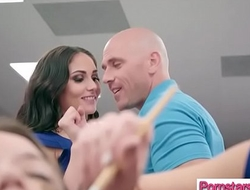 Naughty Pornstar (Ariana Marie &amp_ Britney Amber) Love To bang With Big Monster Cock Stud video-03
