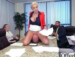 Busty Slut Office Girl (Nina Elle) Love Hardcore Sex video-21