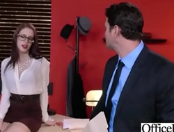 Busty Slut Office Girl (Anna De Ville) Love Hardcore Sex video-03
