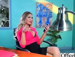 Busty Slut Office Girl (August Ames) Love Hardcore Sex video-04