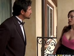 Brazzers - Teens Like It Big -  Butler, Take me to Bonerville scene starring Jennifer White and Tomm