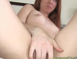 Casting euro babe sucking cock