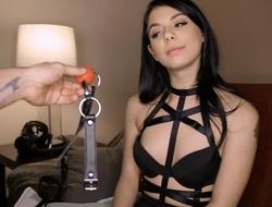 BDSM loving minx gets a hard fuck from her boyfriend