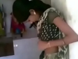 Indian hot girl Kissing in a temple
